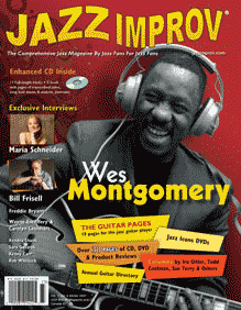 Jazz Improv Magazine cover